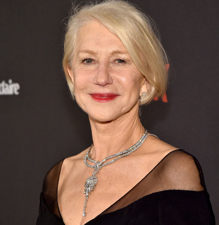 helen Mirren harry winston