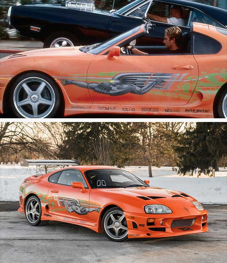 Toyota Supra – Fast And Furious