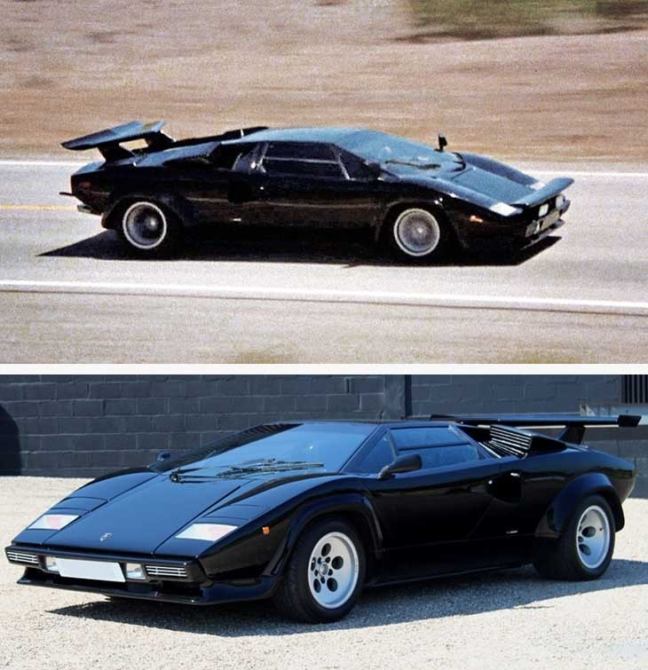 Lamborghini Countach - Cannonball Run