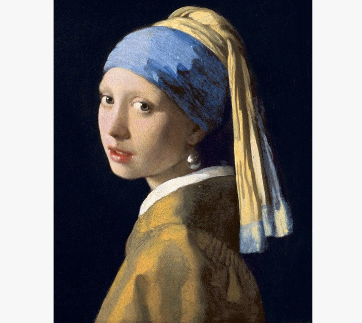 Girl with a Pearl Earring, Mauritshuis, The Hague