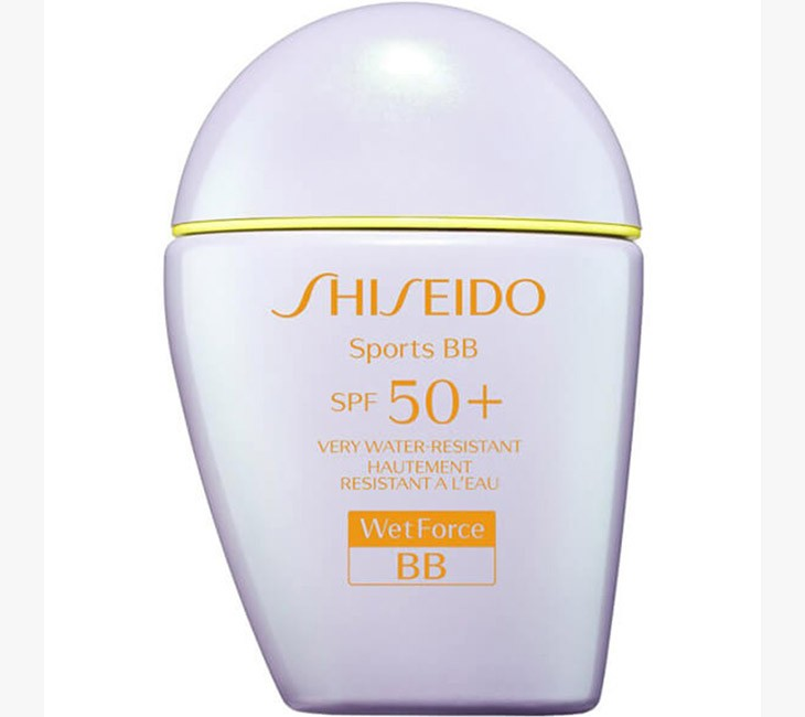SHISEIDO Sports BB Cream SPF 50+ Wetforce SPF 50 +