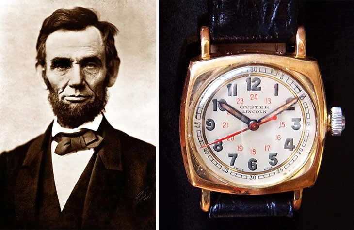 ABRAHAM LINCOLN-ROLEX OYSTER